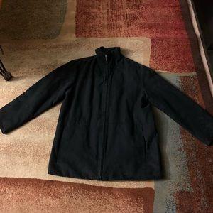 Jackets & Blazers - Wm's London Fog All Weather Dark Navy Blue Jacket